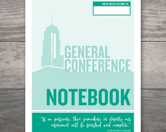 LDS General Conference Packet