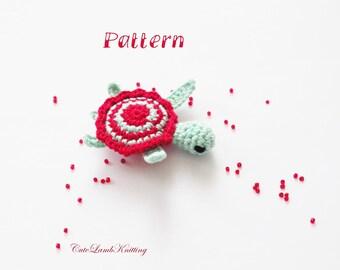 Crochet pattern, Crochet turtle pattern, crochet amigurumi pattern, crochet toy, crochet animals pattern, crochet stuffed animals