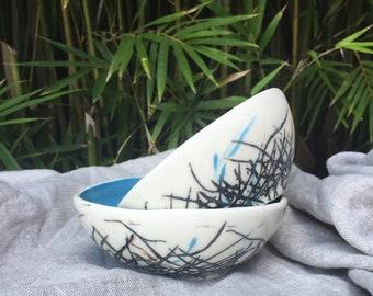 NEST - 2 Ceramic bowls  (Set of 2)