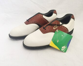 vintage nike golf cleats mens size 8 deadstock NWT 1989