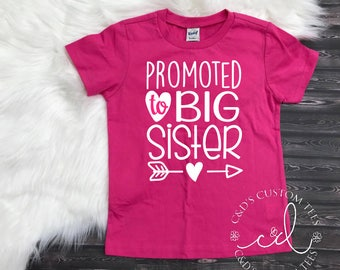 Big Sister Shirt - Big Sister Tee - Big Sister Shirt - Future Big Sister Shirt - Promoted To Big Sister Shirt - Big Sister