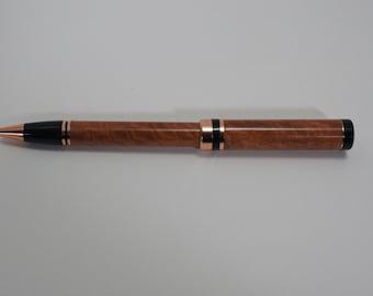 pen, ballpoint, eucalyptus, copper