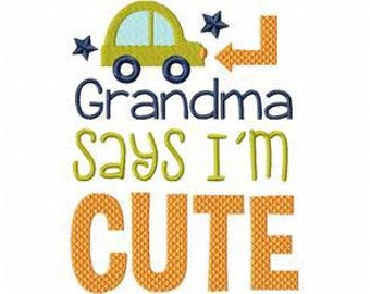 Gramma says I am cute