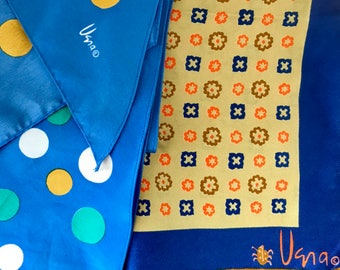 Vintage Vera Neumann Scarves With Signature Made in Japan