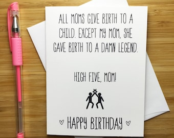 Mother birthday card bday card mum funny birthday card funny happy birthday mom card mother happy birthday happy birthday mum gift funny bookmarktalkfo Images