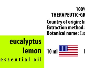Eucalyptus Lemon 100% Essential Oil from India