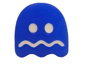 Licensed PAC-MAN Ghost Soap, novelty soaps, classic nintendo, nes classic, nintendo classic, classic nes gifts, novelty soap gift