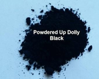Free Shipping! 5g 5 Grams  Matte BLACK Oxide DIY Soap Make Up Cp Mp MnP Cosmetic Pigment Powder