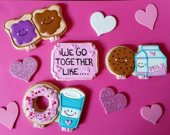 We Go Together Like Cookie Gift Box