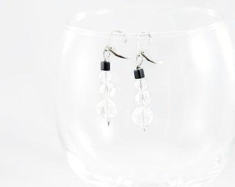 Crystal Snowmen Earrings