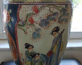 Asian/Oriental Moriage Vase