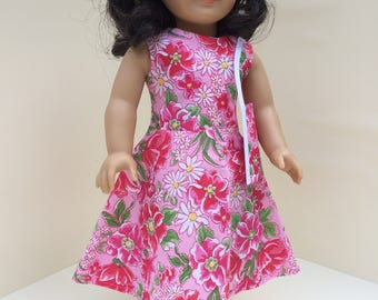 Summer Floral Dress for American Girl Doll