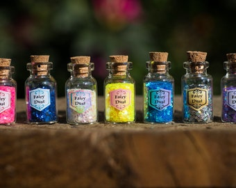 10 X Fairy Dust Bottle