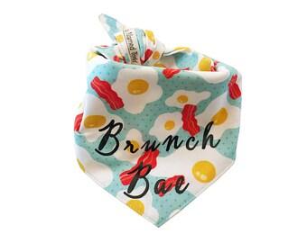 Brunch Bae Bacon & Eggs Reversible Bandana