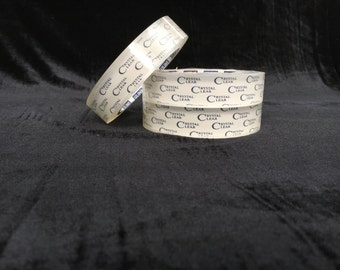 """1"""" Crystal Clear Protective Tape - Hula Hoop Tape - Craft Tape - 72 yards - 2.2 mil thick"""