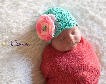 baby hat,girls winter hat, girls hat, newborn girl, hospital hat, baby girl hat, newborn girls hat, crochet girls hat, crochet baby hat