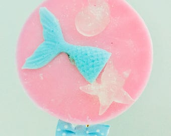 Soap Pops// party favors// bubble gum// birthday favors// royalty// custom favors under 10// mermaid favors// gifts for her// gifts under 10