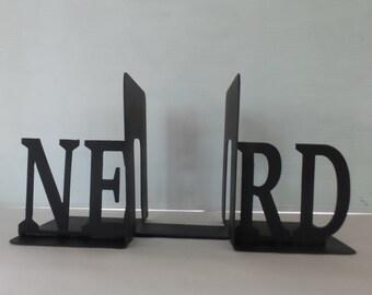 NERD - Metal Bookends