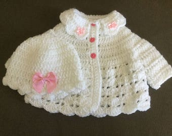 Sweater set premie or baby doll