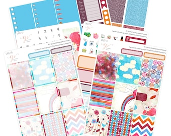 5 Dollar Friday!! / Planner Sticker Kit / Rainbow Stickers / Planner Sticker / Erin Condren Planner Stickers / Weekly Sticker Kit / WK57