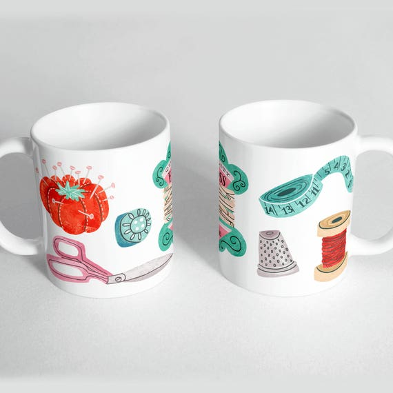 Sewing Coffee Mug - Great Gift For Sewing Enthusiast
