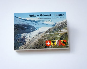 Swiss mountains postcards, Furka – Grimsel – Susten