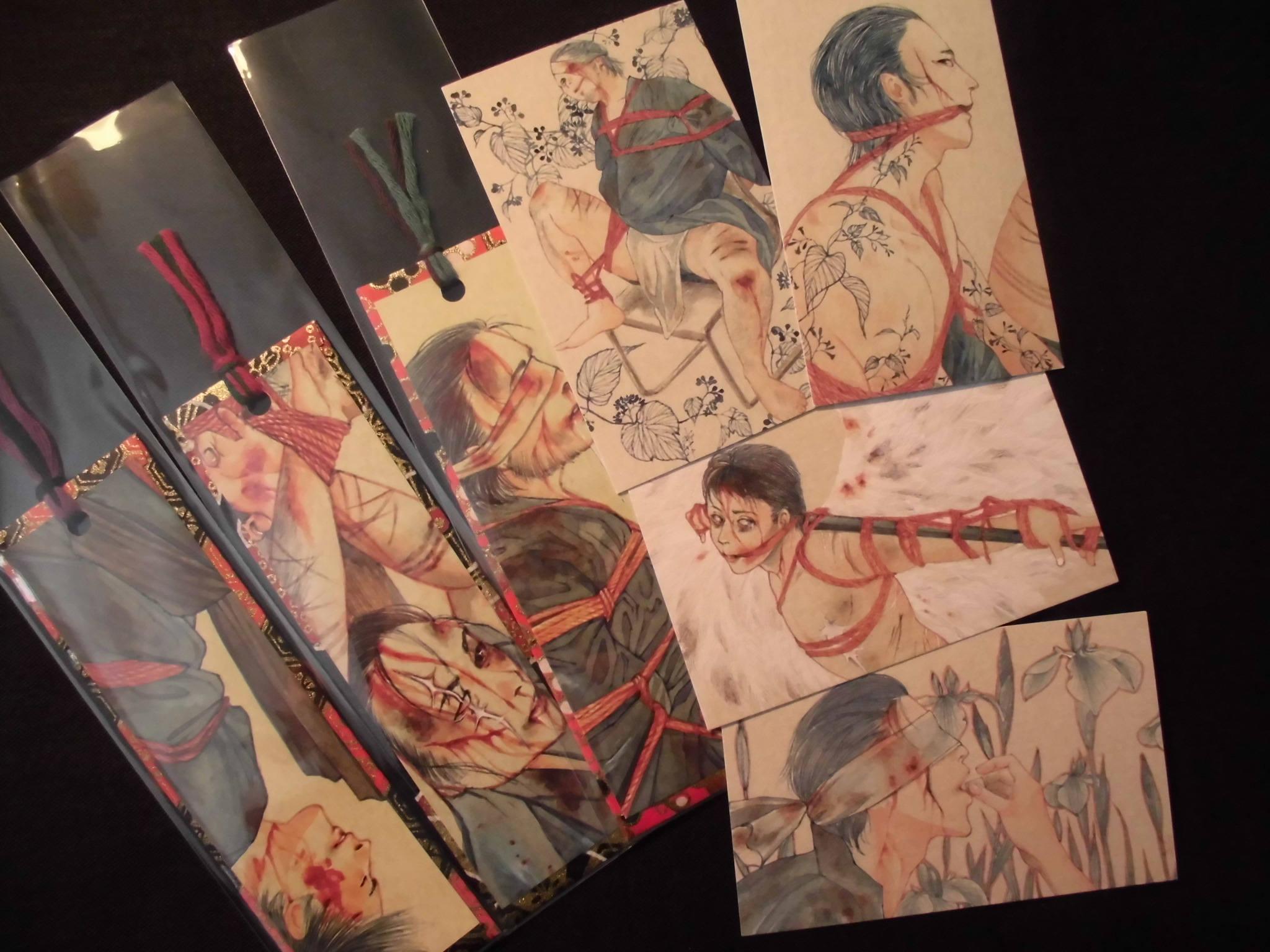 Famoso Japanese Erotic Art KINBAKU TENUGUI GY39