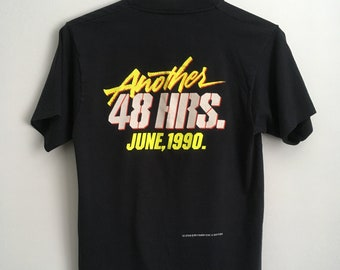 """1990 """"Another 48 HRS."""" Double-Sided Promo Shirt!"""