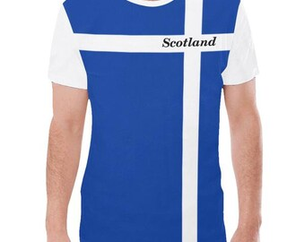 Scotland Men's Flag Tee