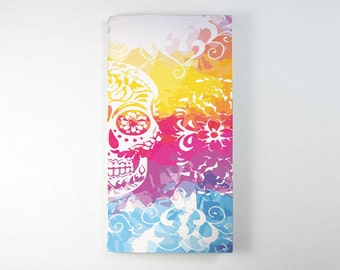 Travelers Notebook Insert - Sugar Skull.  Bullet Journal, Midori Insert, Fauxdori Insert, Planner Insert, Traveler's Notebook Refill.