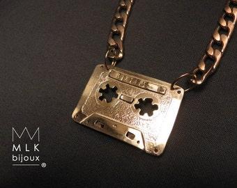 "necklace ""boombox"" or ""mixtape"" on order, ""cassette"" or ""ghettoblaster"" hip hop pendant"