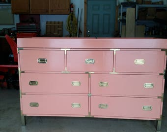 7 Drawer Dresser with Changing Topper