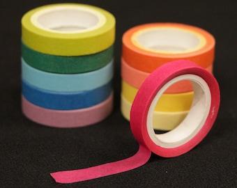 Rainbow Mini Washi Tape Set