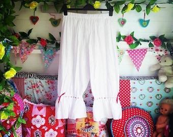 Soft cotton Viktoria bloomers, pantaloons
