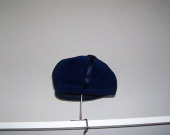 Shelf Hat Stand Wig Holder Wood and Metal Vintage