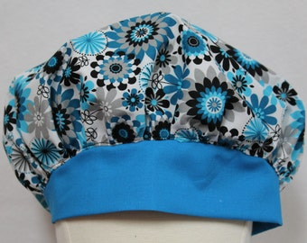 Surgical scrub hats