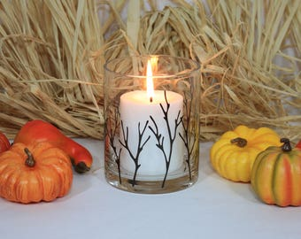 Fall Decorations, Fall Candle, Fall Candle Holder, Autumn Candle Holder, Autumn Decorations, Thanksgiving Decorations, Fall Decor, Candles