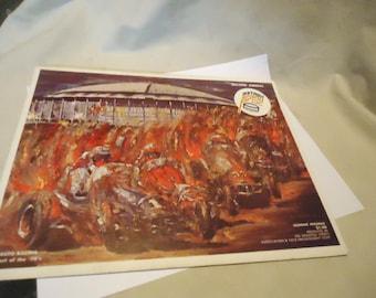 Vintage 1970 Astro Grand Prix In The Astrodome Souvenir Program Booklet, collectable