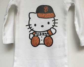 Hello Kitty San Francisco Giants BABY Onesie