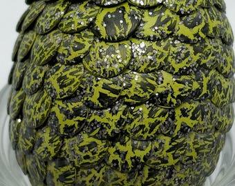 Mossy bark dragon egg