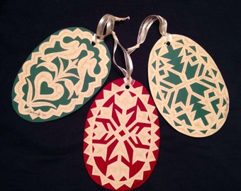 PAPERCUT Ornaments