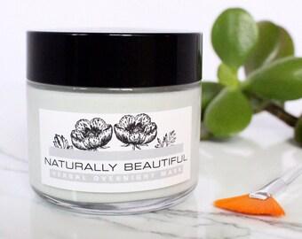 Herbal Peptide Face Cream - Face Moisturizer - Natural Skin Care - Blue Tansy - Natural Skincare - Natural Face Cream - Vegan