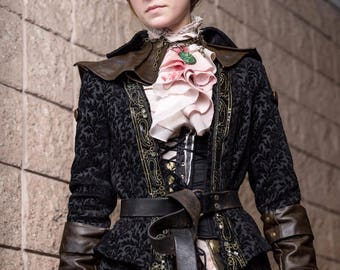 Lady Maria of the Astral Clocktower Coat and Cape