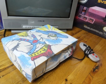 He-Man WRETRO WRAPPER console dust cover