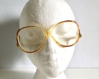 Vintage Women's Glasses 80's Frames, Rounded, Oversize, Eyewear by Ms O.P.T.