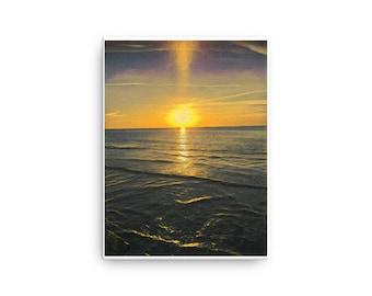 Sunset Photo Redesigned - Canvas