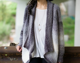 The Cascade Cardigan Crochet Pattern