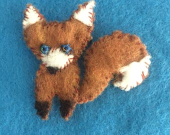 Fox Brooch