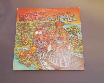 The Last Train to Hicksville - Vinyl Album w/Dust Cover