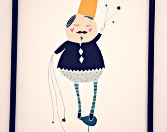 Print- Little Dreamer-